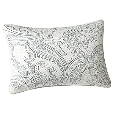 Harbor House Chelsea Paisley 12-by-18-Inch  Oblong Decorative Pillow