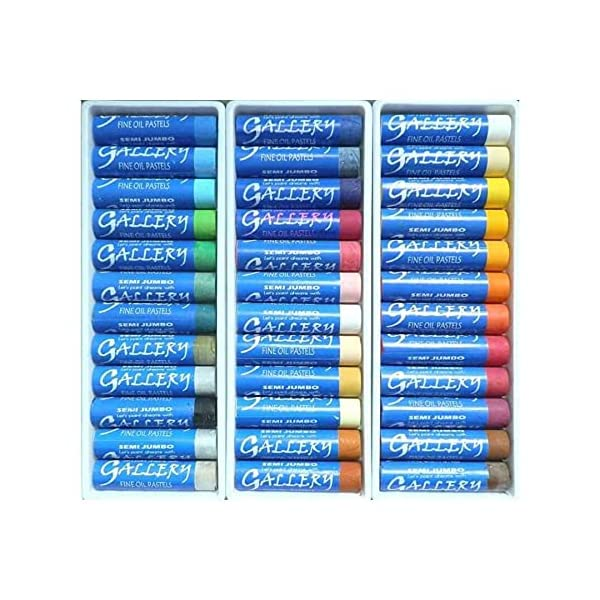 Mungyo-Gallery-Oil-Pastels-Semi-Jumbo-Set-of-36-70mm-X-17mm-Assorted-Colors