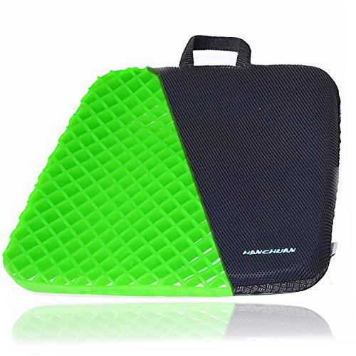 HANCHUAN Gel Seat Cushion Extra Firm & Large Pad with