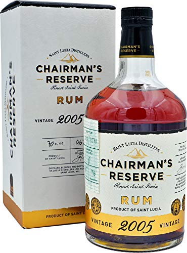 Chairman's Reserve Chairman'S Reserve Rum Vintage 2005 46% Vol. 0,7L In Giftbox - 700 ml