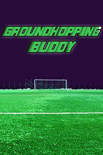 Groundhopping Buddy: Spielplaner A5 | Begleiter 2020 |Fußball | Spiel Stadion | modisch & schlicht | Erinnerungen