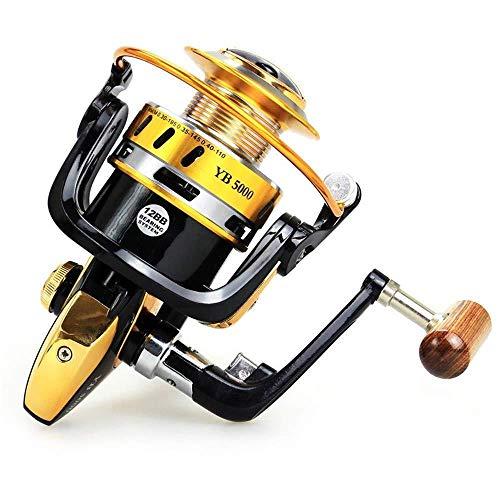 HXF- Pescador de Pesca Línea Serie YB Metal Rocker Carrete de Pesca Carrete de la Pesca Carretera Sub-Rueda Que Hace Girar la Rueda del Engranaje de Pesca Precisión (Size : 7000)