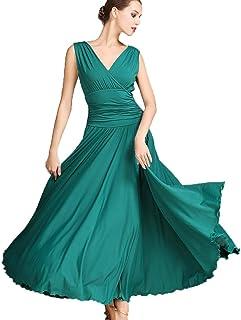 Robes De Danse De Salon Pour Les Femmes Vetements De Danse De Competition Robe De Tango