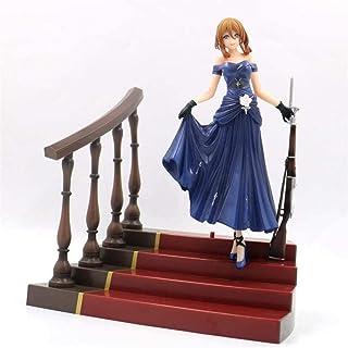 LF-YGJ Estatua de Anime 28cm Anime Girl Frontline Queen of Springfield Under Girl PVC Colección de muñecas de acción Model...