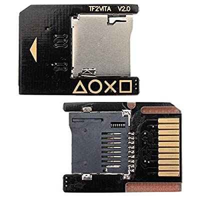 BisLinks® New OEM Micro SD Memory Card SD2Vita Adapter Socket For PS VITA 3.60 Henkaku [video game]