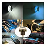 AUTO BEAST Universal Bike Dual Color Water Proof 2X Motorcycle DRL Turn Signal