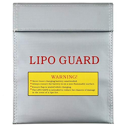 SHUGJAN Guardia de seguridad a prueba de fuego bolsa 1pc RC LiPo de seguridad de la batería carga el saco del bolso 180 X 230 mm Nuevo caliente! Piezas de montaje RC
