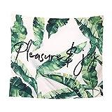 N / A Arazzo a Parete pianta Paesaggio arazzo Decorazione arazzo stuoia di Yoga Tappetino da Spiaggia tovaglia Coperta arazzo Sfondo Panno A16 150x200cm