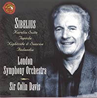 Sibelius: Karelia, Tapiola, Les Oceanides, Valse Triste, etc. / Davis, London SO