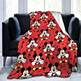 Flannel Throw Blanket Ultra Soft Plush Bed Blanket Cozy Lightweight Couch Blanket for Adults and Kids