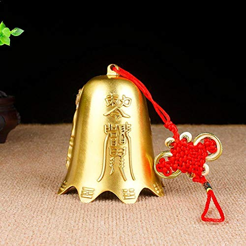 Tangyuan Japanse geschenken windspel windspel parelmoer koperen bel hanger koper Guanyin Bell wind klok auto hanger decoratie auto Feng Shui koperen klok koper hanger Medium