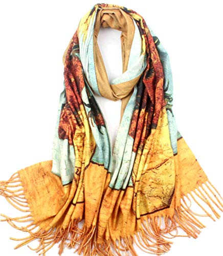 Soft Cashmere Feel Scarf For...