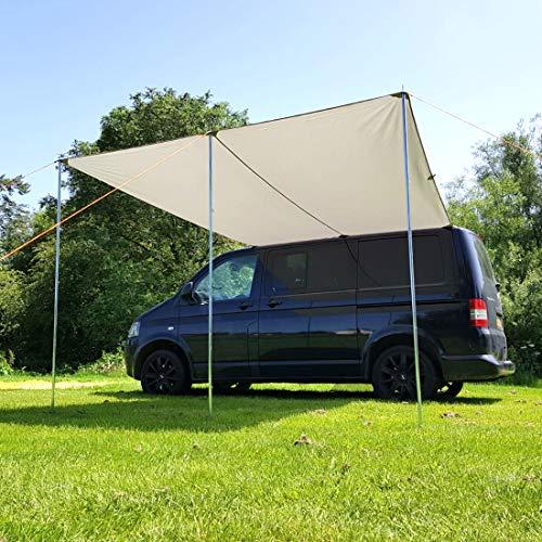 Debus polycotton zonnekap luifel voor campers - Past op T4 T5 T6