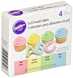 Wilton Gel Food Coloring Set 4/Pkg-Easter