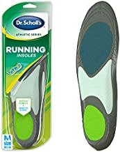 Dr. Scholl's Running Insoles // Reduce Shock and Prevent Common Running Injuries: Runner's Knee, Plantar Fasciitis and Shin Splints for Men's 10.5-14