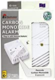Ei Electronics Carbon Monoxide Alarm with Mains Plug and Memory Feature