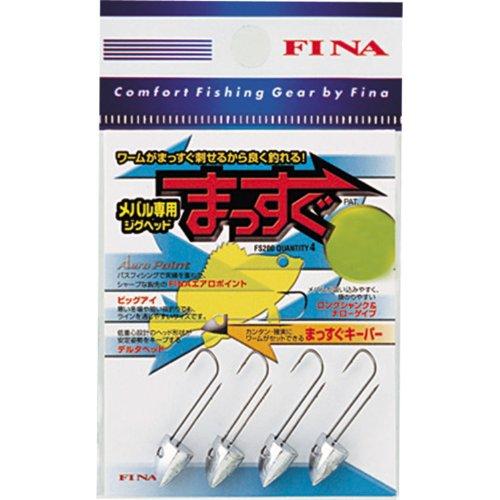ハヤブサ(Hayabusa) FINA メバル専用ジグヘッド まっすぐ #8/1.5g FS200-8-1.5