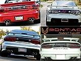SF Sales USA - Black Tailgate Letters Pontiac...