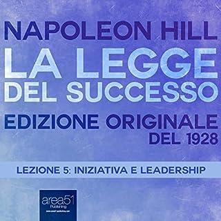 Iniziativa e leadership copertina