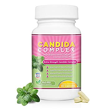 Cyrixs Health Candida Complex   Boost Your Immune System   All Natural Gut Cleanse with Herbs Antifungals Enzymes and Probiotics   Eliminates Candida   Prevents Reoccurrence