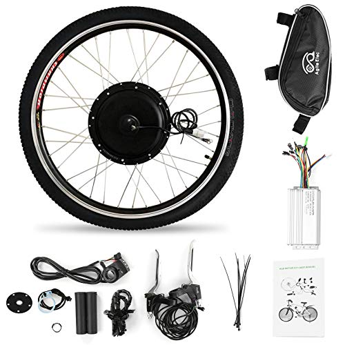Festnight Kit de conversión de Bicicleta eléctrica de 26x1,75 '' Kit de...