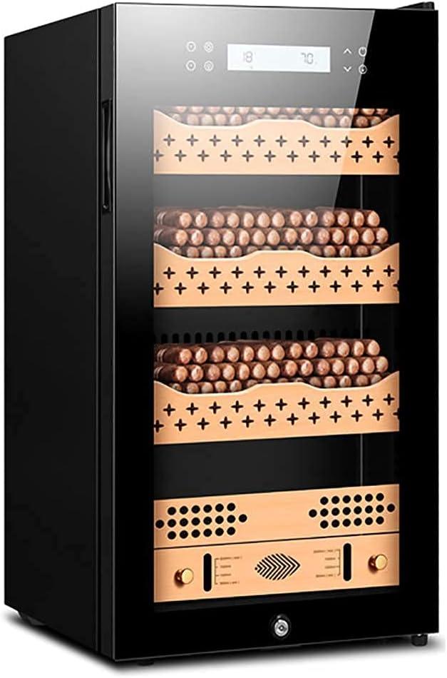 LZQHGJ XIAOJIAN Gabinete de cigarro termoeléctrico, gabinete de Vino - refrigerador de Drogas refrigerador - Vino de encimera - refrigerador Independiente con LCD Pantalla Digital