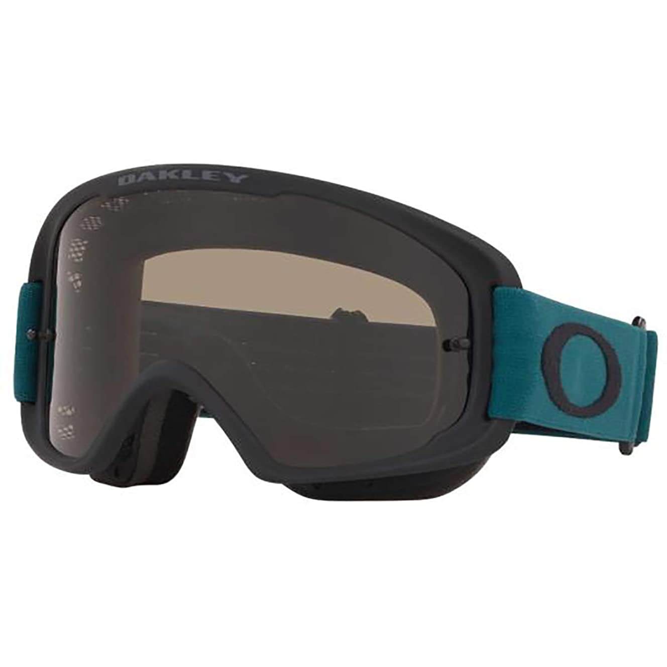 Oakley O-Frame 2.0 Men's MTB Off-Road Cycling Goggles - Balsam Black/Dark Grey & Clear/One Size