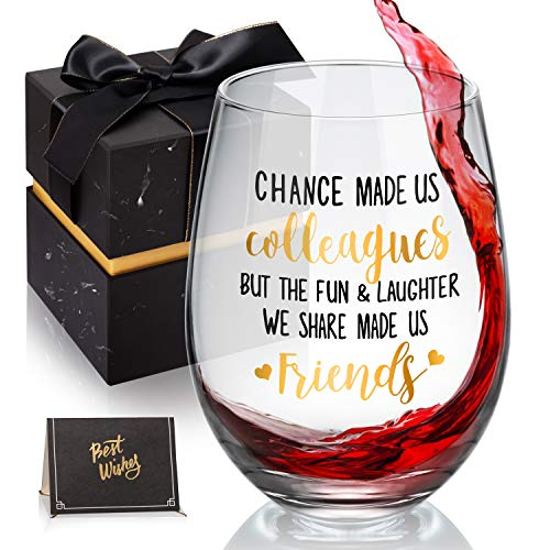 Coworker Gifts for Women - Chance Made Us Collegues - Office Gifts for...