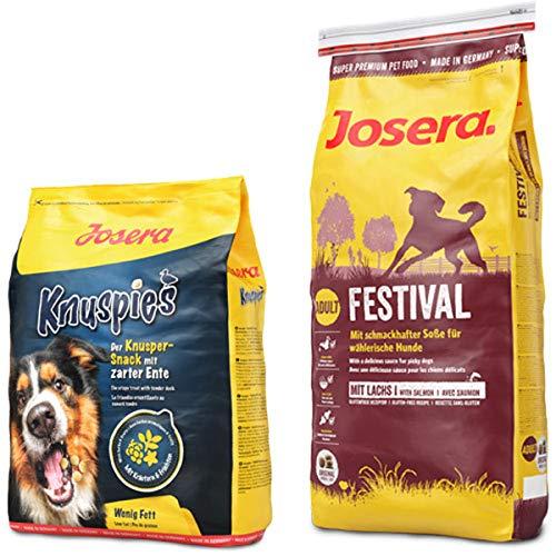 Josera 15 kg Festival + 900 g Knuspies