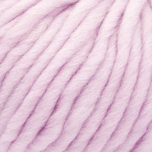 ggh Husky, Farbe:051 - Rosa, Schurwolle Mischung, 50g Wolle als Knäuel, Lauflänge ca.50m, Verbrauch 800g, Nadelstärke 7-9, Wolle zum Stricken und Häkeln