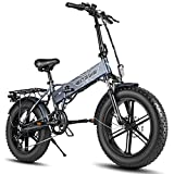 ENGWE EP-2 Pro - Bicicleta de montaña plegable (750 W, 20 pulgadas)