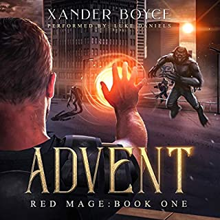 Advent     Red Mage, Book 1              By:                                                                                                                                 Xander Boyce                               Narrated by:                                                                                                                                 Luke Daniels                      Length: 10 hrs and 10 mins     22 ratings     Overall 4.6