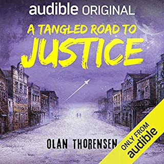 A Tangled Road to Justice audiobook cover art
