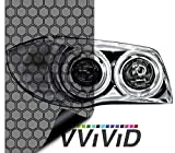 VViViD Extra-Wide Headlight Taillight Vinyl Tint Wrap 16 Inch x 60 Inch Roll (Hex+ Light Smoke)