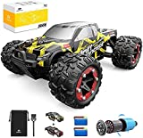 Ferngesteuertes Auto, DEERC RC-Cars 1:18 RC Rennauto 4WD Brushless-Motor, 60 km/h Offroad Truggy Schnell Monstertruck 2.4-GHz, Spielzeug Fahrzeug für Erwachsene und Kinder (300E)