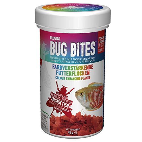 Fluval Bug Bites Farbverstärkende Futterflocken, 1er Pack