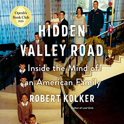 Hidden Valley Road audiobook cover art