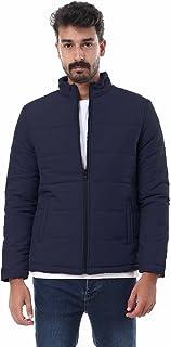 Andora Basic Side Pocket Zip-Up Puffer Jacket for Men