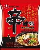 Nong Shim Instant Noodles Shin Ramyun - Paquete de 20 x 120 gr - Total: 2400 gr...