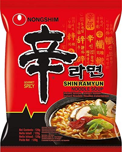 Nong Shim Noodles Shin Ramen - Pacco da 20 x 130 g