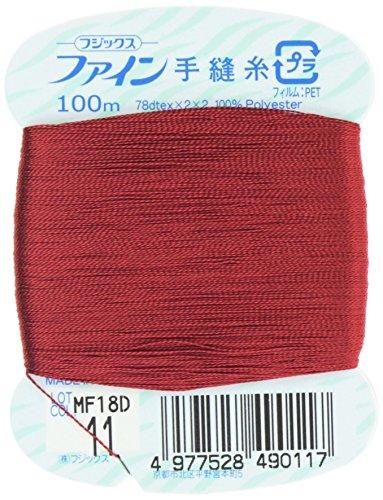 フジックス ファイン 【手縫い糸】 #40 100m col.11
