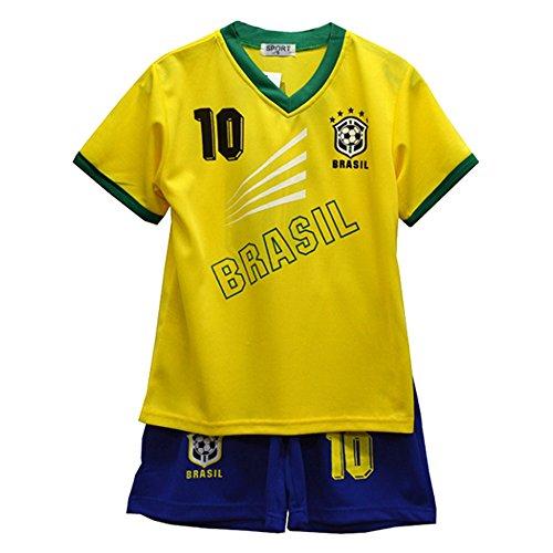 Kinder – Set Trikot & Shorts Fußball Sommer