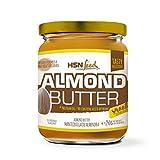 HSN Foods - Mantequilla de Almendras con Textura Cremosa y Suave - 100% Natural - Almond Butter Smooth - Apto Vegetariano - Sin grasa de palma - Sin grasa trans - Sin azúcar ni sal añadidos - 250g