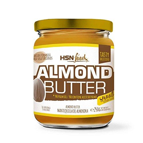 Mantequilla de Almendras de HSN | Textura Cremosa y Suave -