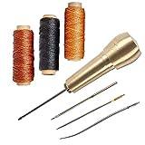 4 Nadeln mit Kupfergriff