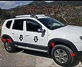 Boa Line - Kit de carrocería ABS para guardabarros y puerta, compatible con Dacia Duster 2010-2017