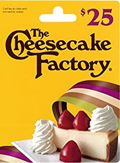 cheesecake factory $25