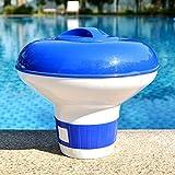 ZIFengw Attraktiver Chlordispenser Schwimmender Schwimmschwimmender Schwimmer Schwimmbecken Tablet Holder -