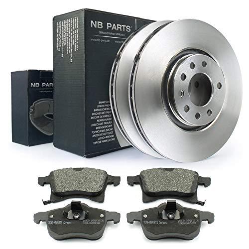 Frenos/discos de freno + pastillas de freno delanteras NB PARTS Germany 10042186