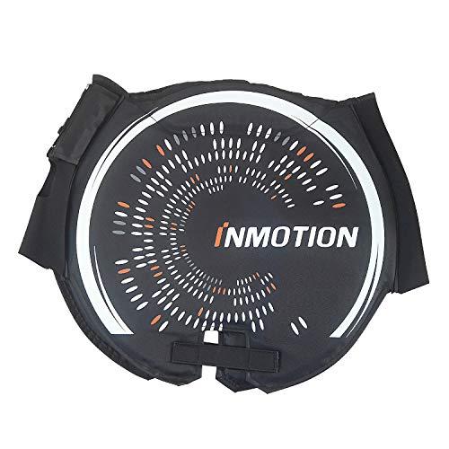 InMotion - V8 - Girorrueda Unisex para Adulto de Color Negro y Gris.